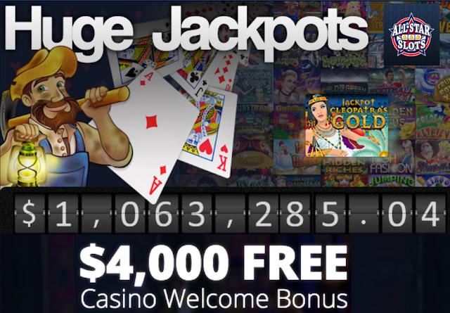 All Star Slots Welcome Bonus