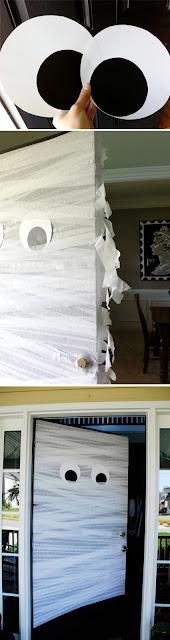 múmia, porta
