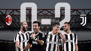 Juventus Kalahkan Milan 2-0
