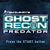Tom Clancys Ghost Recon Predator (USA) PSP CSO Free Download & PPSSPP Setting