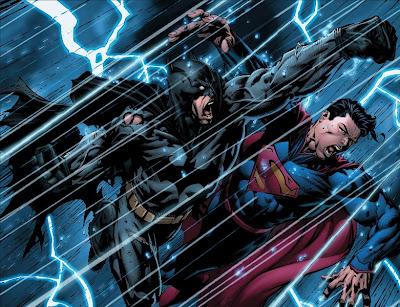 New 52 Batman versus New 52 Superman Spoilers