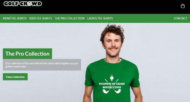 humorous golfing shirts golf crowd t-shirts marketing masterminds branded clothing