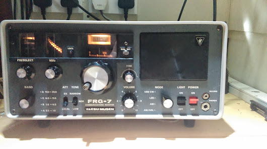 The Yaesu Musen FRG-7 An Oldie But a goodie