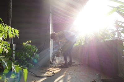 construction, garden, gardenview, homestay, Sri Lanka, tropics, tropical, energy, electricity