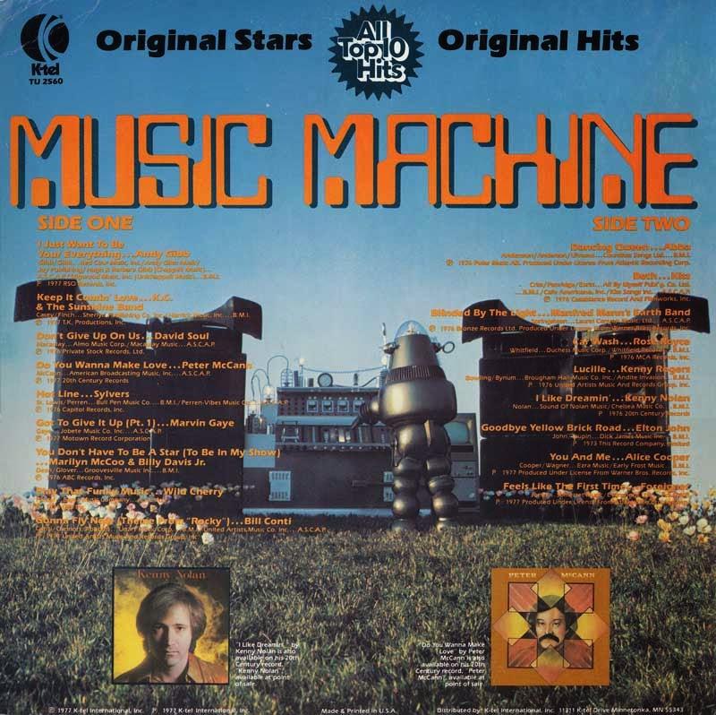 k tel machine
