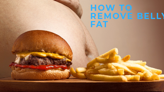 How to remove belly fat and keep body feet