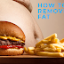 How to remove belly fat and keep body feet.