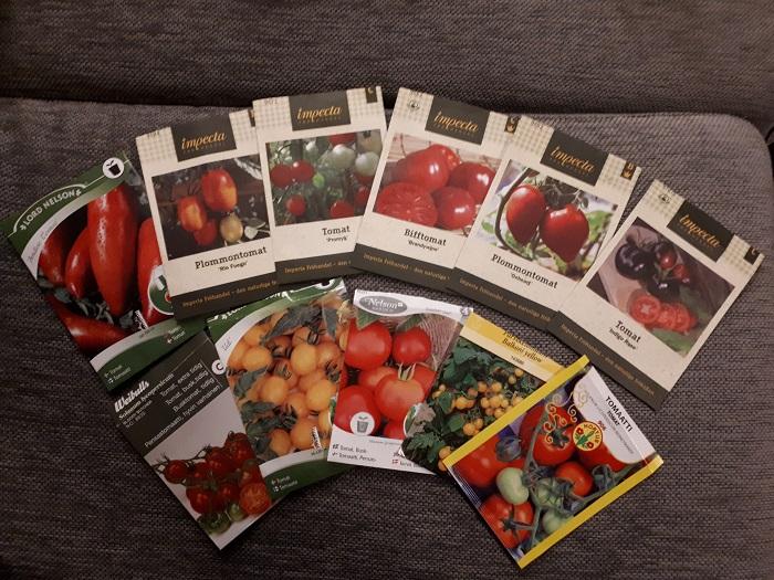 tomaatin siemeniä