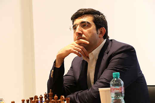 Mémorial Tal: Vladimir Kramnik - Photo © site officiel