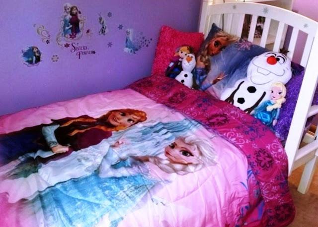 desain kamar tidur frozen terbaru
