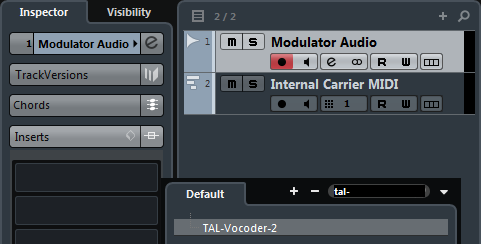Ultimate Outsider: Setting Up Vocoders in Cubase Part 4: TAL
