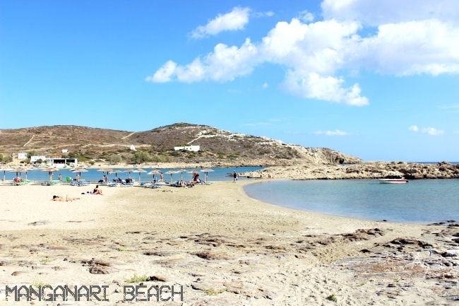 Manganari beach in Ios island