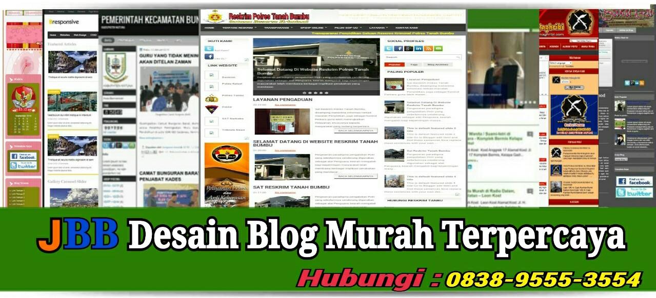 Jasa Desain Blog Murah