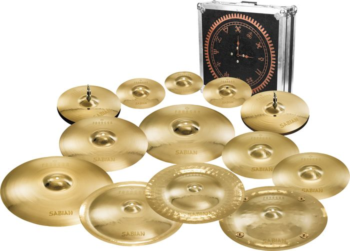 power windows a tribute to rush limited edition sabian paragon cymbal pack includes a splash. Black Bedroom Furniture Sets. Home Design Ideas