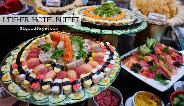 L'Fisher Hotel buffet - Bacolod restaurants - L'Fisher Hotel Bacolod - eat all you can buffet - L'Fisher Hotel Bacolod buffet price - Bacolod hotels - Bacolod blogger - Bacolod lifestyle blogger - Japanese food