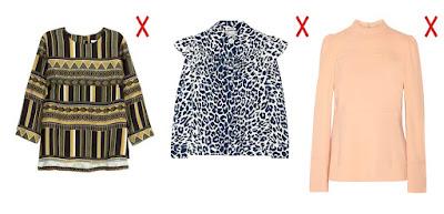 Как выбрать блузку для типа фигуры перевернутый треугольник