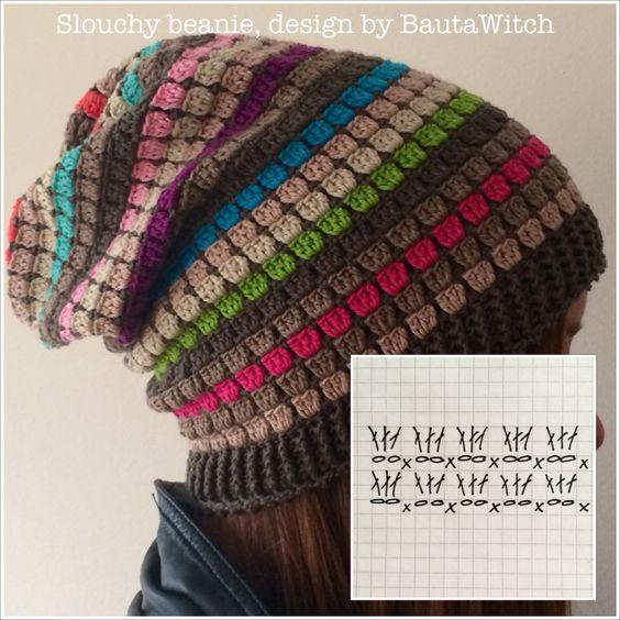 szydelkowa czapka tutorial