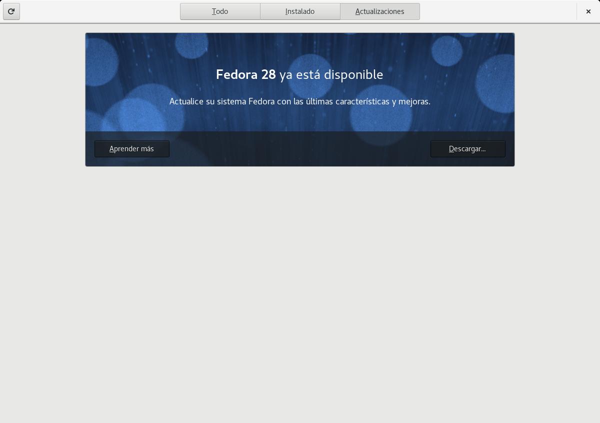 Habilitar actualizaciones pre-releases en Fedora 27