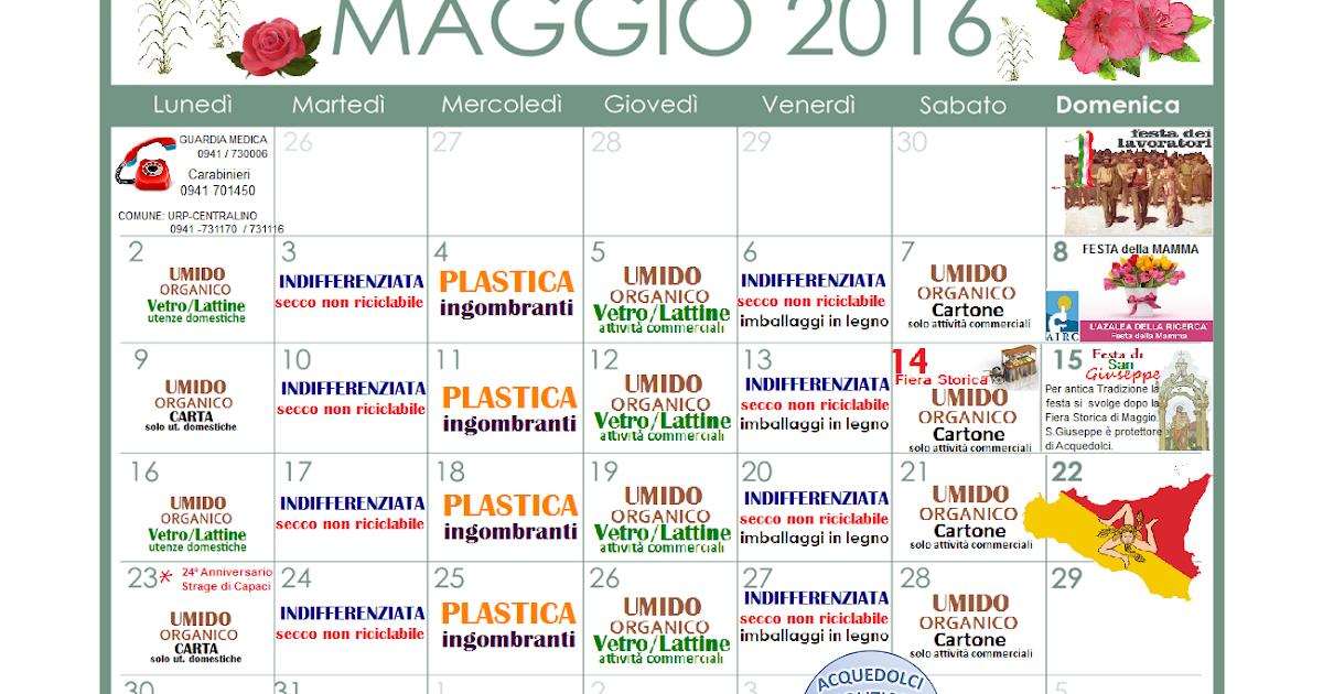 Calendario di maggio 2016 for Calendario fiere 2016