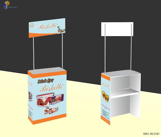 booth bán hàng lưu động