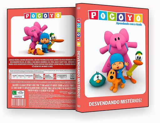 CAPA DVD – Pocoyo Desvendando Misterios – ISO