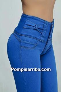 Jeans de Ninel conde tiendas de pantalon en Medrano levanta pompis 2016 y 2017