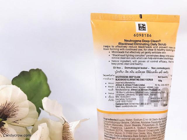 Nutrogena Deep Clean Blackhead Eliminating Scrub Review
