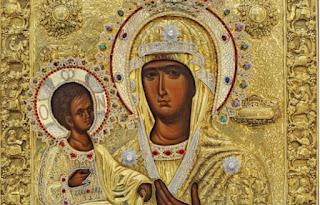 Σταυρός Θεσσαλονίκης: Σε λαϊκό προσκύνημα έως σήμερα η εικόνα της Παναγίας της Τριχερούσας