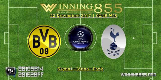 Prediksi Akurat Dortmund vs Spurs 22 November 2017