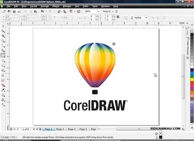Cara Buka File cdr Online (CorelDraw)