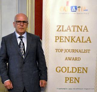 ricevimento del premio giornalistico Penna d'Oro