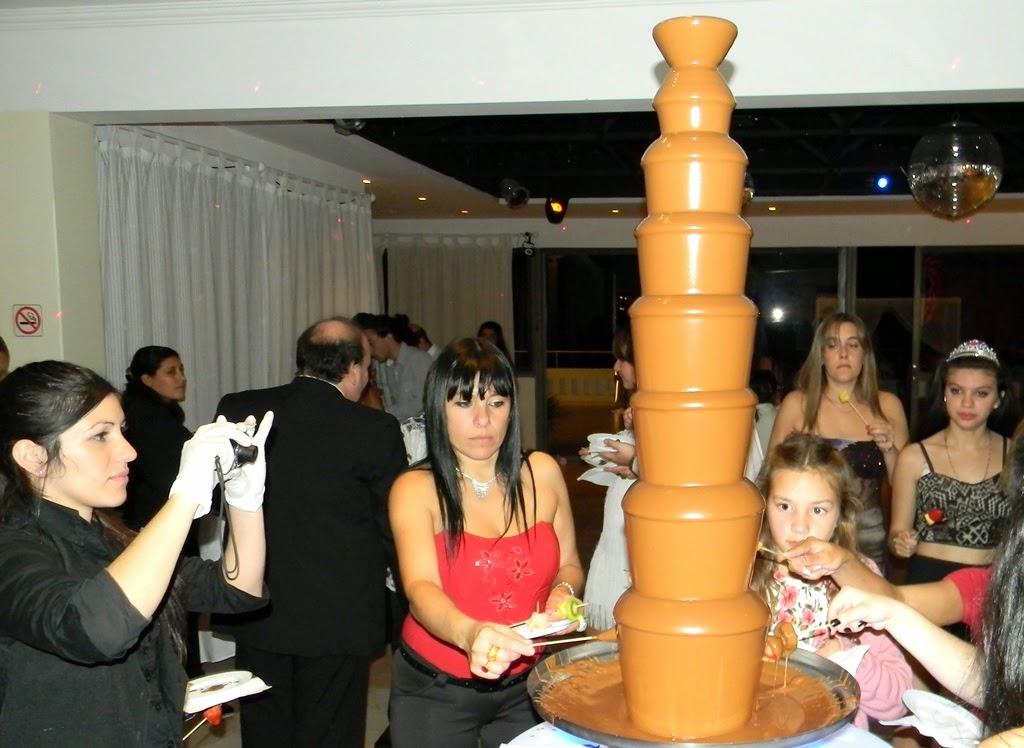 cascada de chocolate royal grande 8 pisos