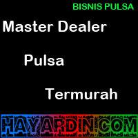 Master Dealer Pulsa Termurah