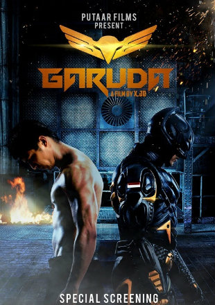 Garuda Superhero (2019) Hindi Dubbed 720p HDRip x264 300MB