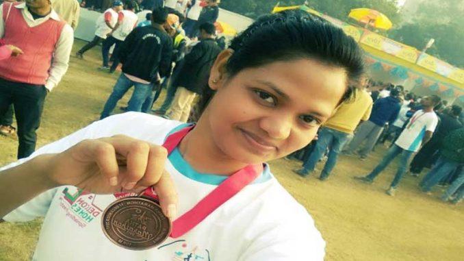 नालंदा की बेटी ने मैराथन दौड़ में जिले का नाम किया रौशन