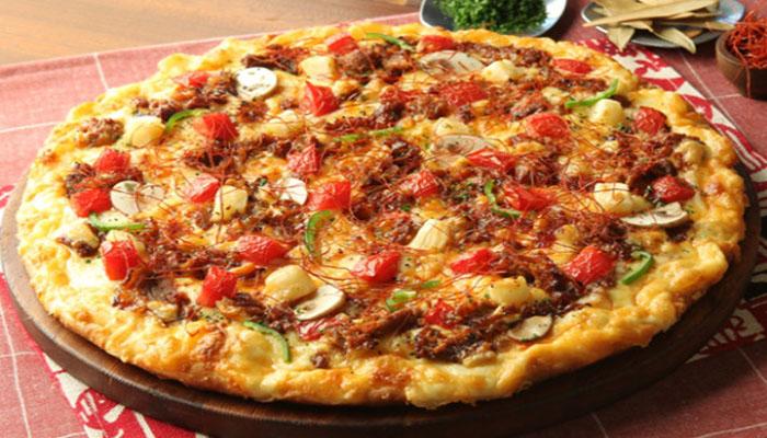 Cara Membuat Pizza Topping Jamur Dan Daging Cincang