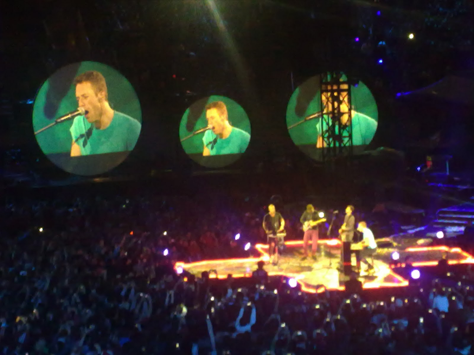 Coldplay From Madrid To Paradise Festivaleros