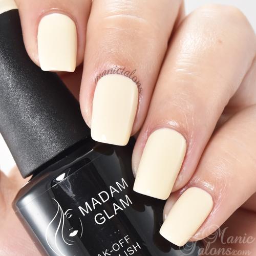 Madam Glam Gel Polish Cafe au Lait Swatch