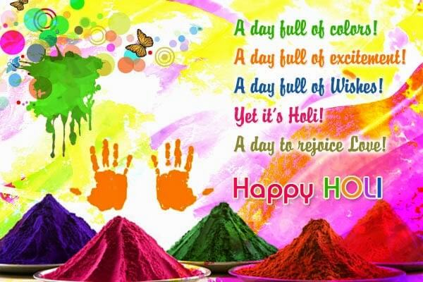Holi Status Quotes Wishes Messages SMS With Images
