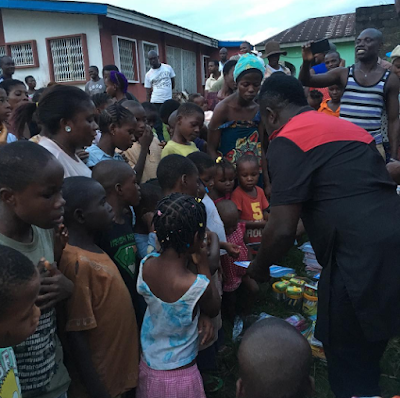 Image result for Duncan Mighty Donates 'Back To School' Materials To Over 800 School Kids. (Photos)