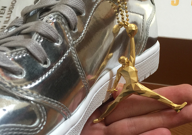 """17359e4b08f80b ... the Swooshless Air Jordan 1 Low gets more premium than ever with the  upcoming Metallic Silver edition. Reminiscent of the coveted """"Liquid Metal""""  Nike ..."""
