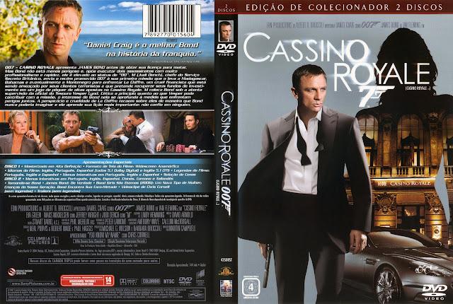Capa DVD Cassino Royale (Edição de Colecionador)