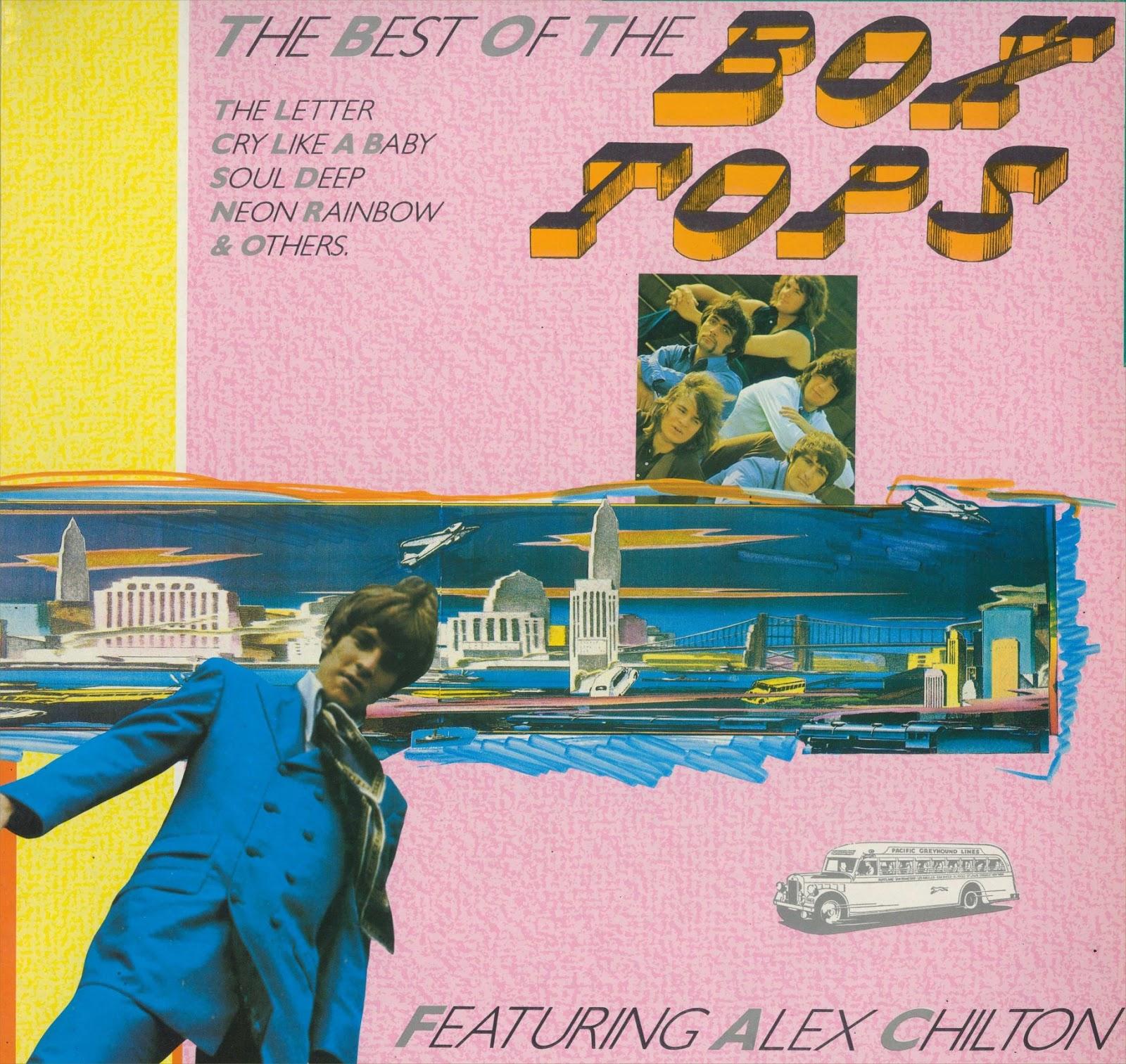 Rock on vinyl box tops the best of featuring alex for Best music 1988