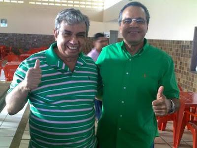 Henrique e Garibaldi Alves em Riachuelo