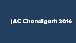 JAC Chandigarh 2017