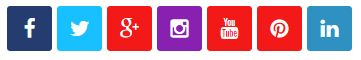 Widget Link Media Sosial