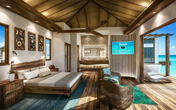 Sandals Overwater Bungalows Announcement Sandals Royal
