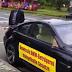 Mécontent, il fracasse sa BMW M6 en public