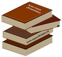 Pengertian, Jenis, Ciri Kata Ganti (Pronomina) Dan Contohnya