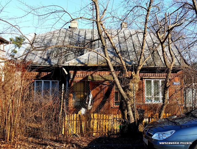 Warszawa Wawer Warsaw Marysin Wawerski drewniak drewniany dom